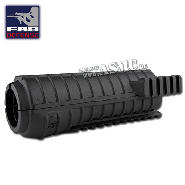 FAB Defense Hand Guard Polymer Rail M4