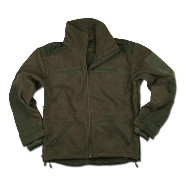 Fleece Jacket Windproof olive