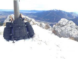 Gipfel Ettaler Mandl