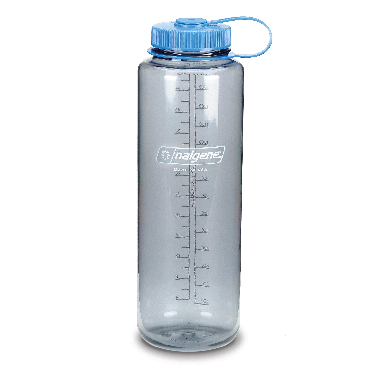 Nalgene Drink Bottle Everyday Wide Mouth Silo 1.5 L gray