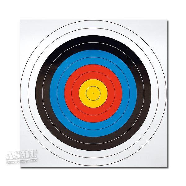 Paper Archery Target 63 x 63 cm 5-Pack