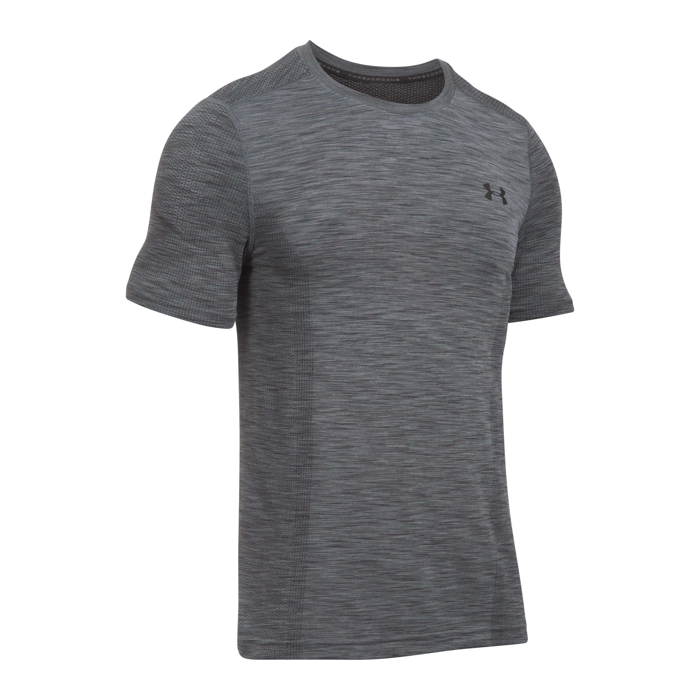 Under Armour Fitness Shirt Threadborne gray/black