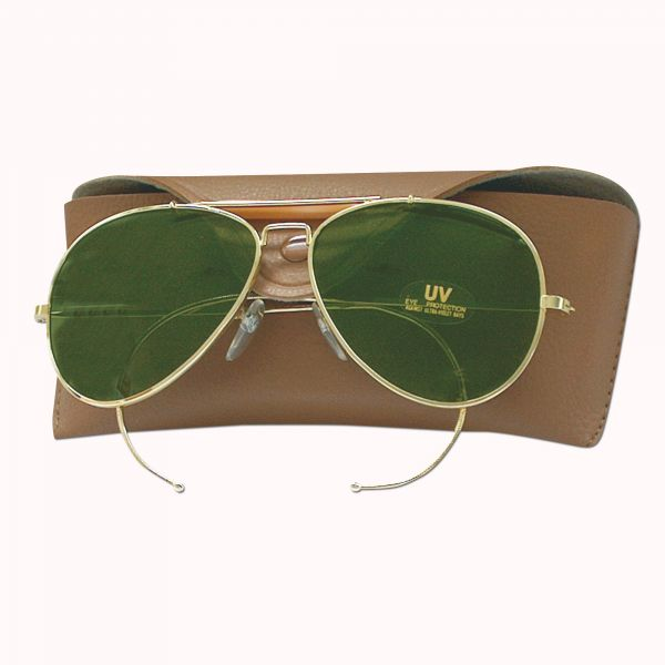 Sun Glasses Air Force Style green