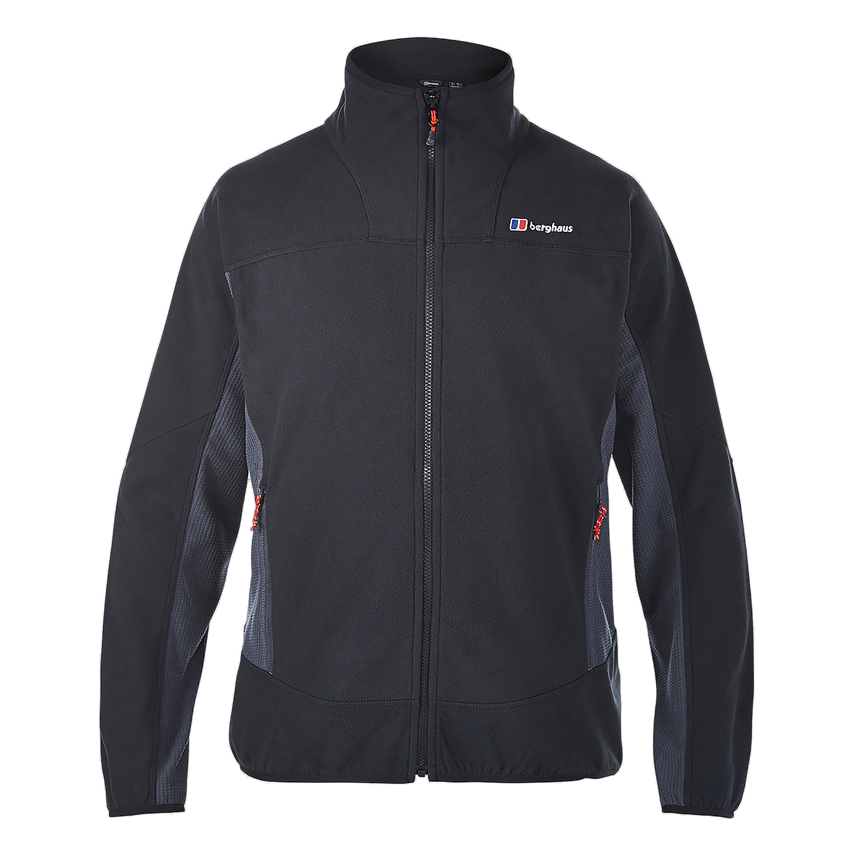 Jacket Berghaus Prism Micro Fleece IA black gray