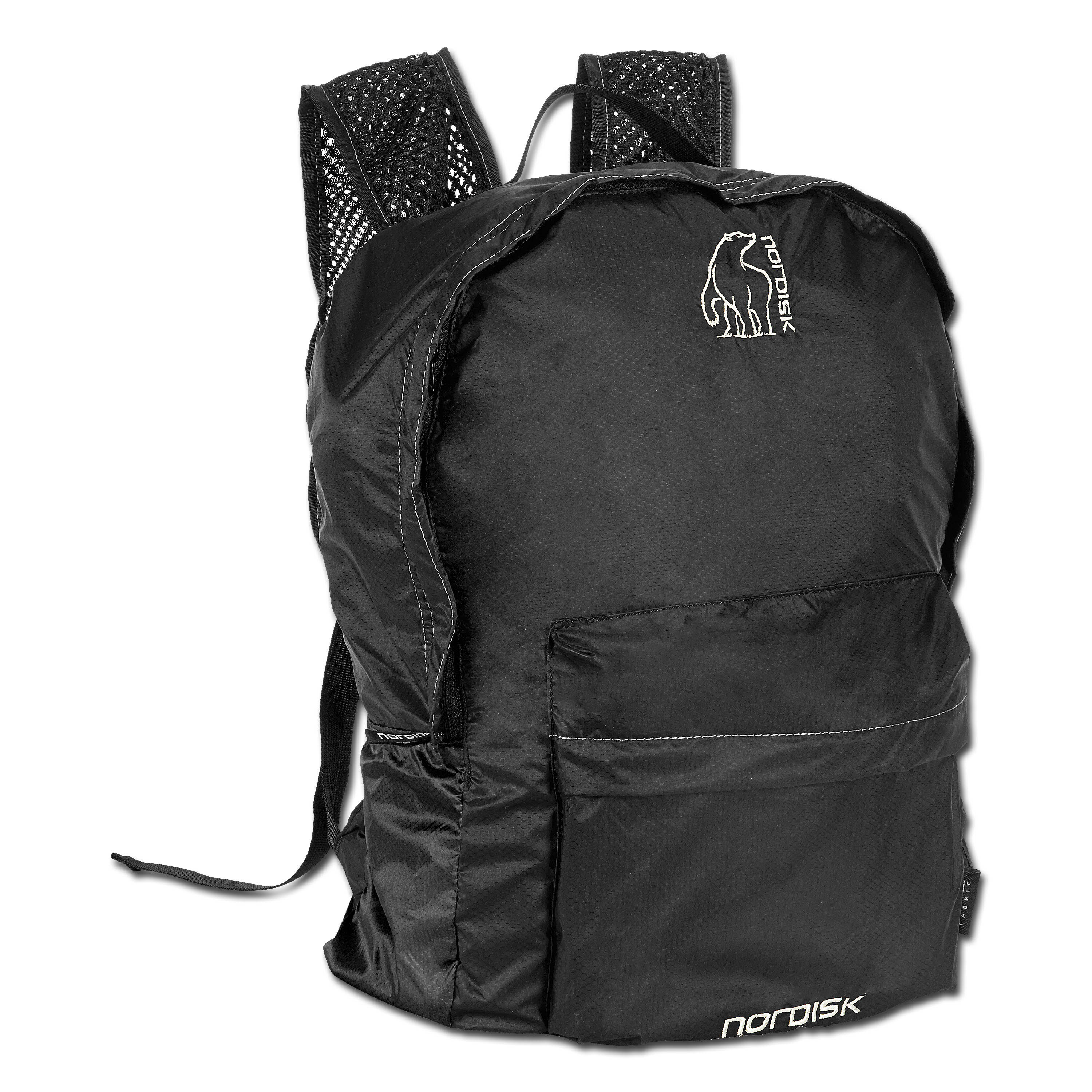 Backpack Nordisk Ribe black 20L