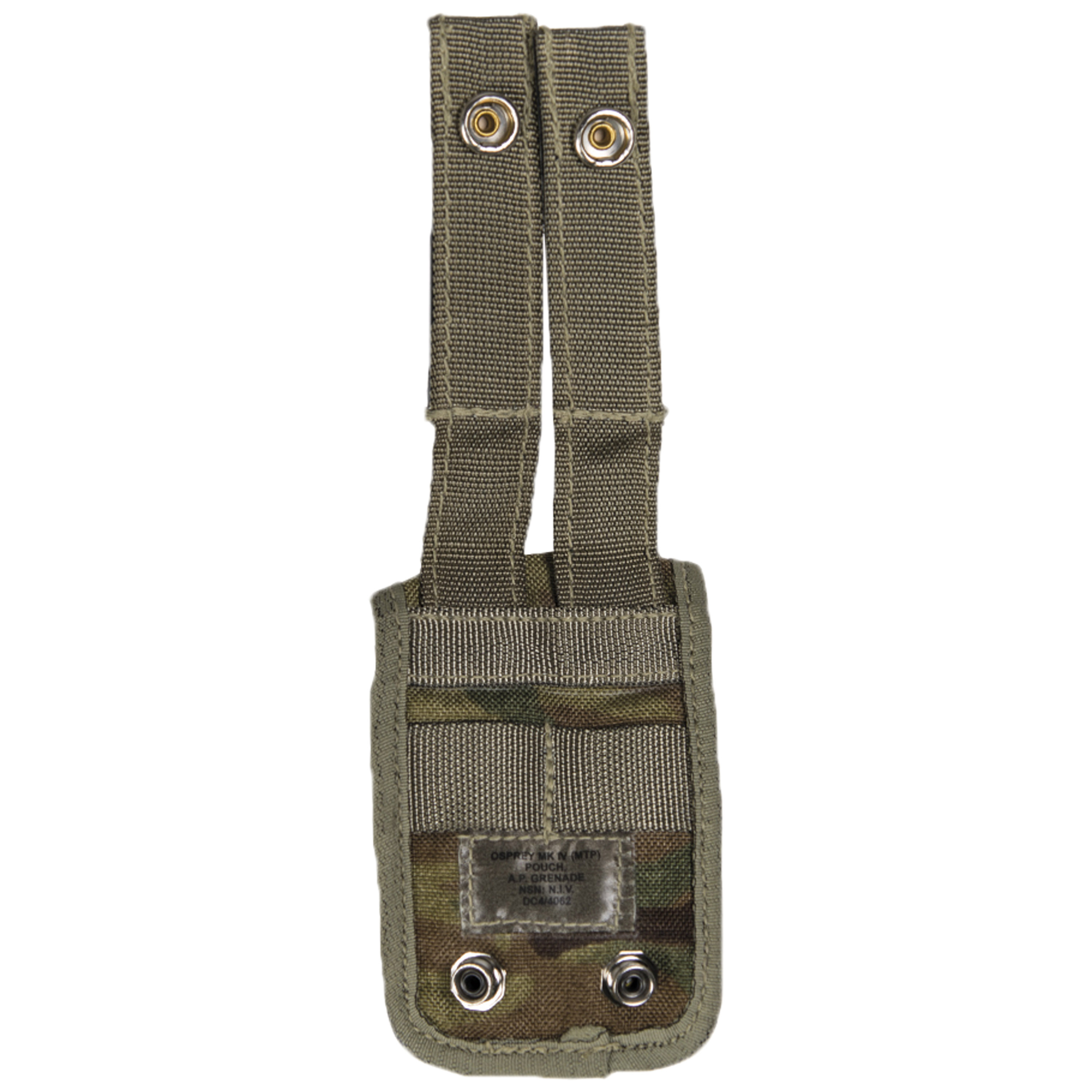 Used British Belt Pouch AP Grenade MTP Camo