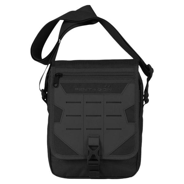 Pentagon Shoulder Bag Messenger black