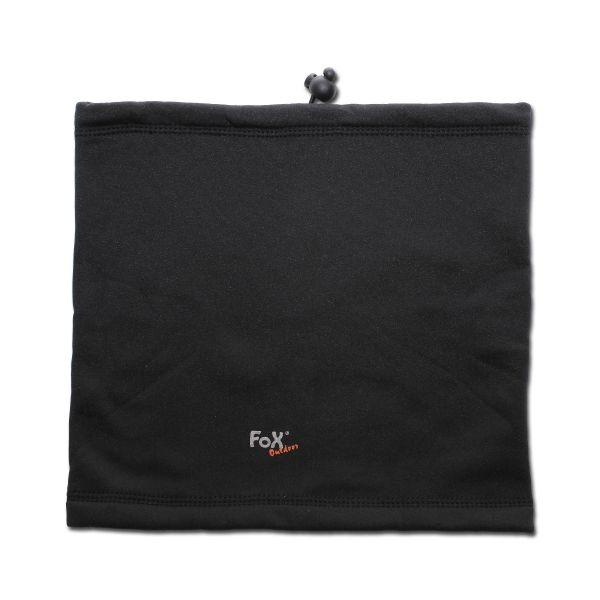 Snood Scarf Fox Outdoor Softshell black