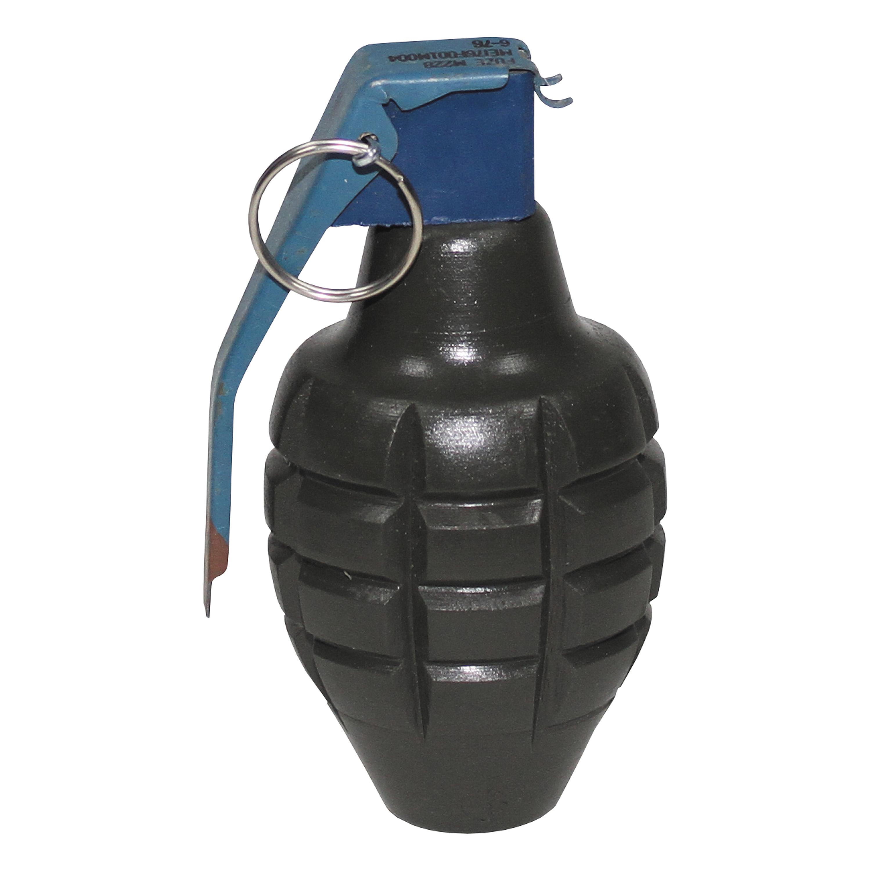 Wooden Decoration Hand Grenade MK2 olive