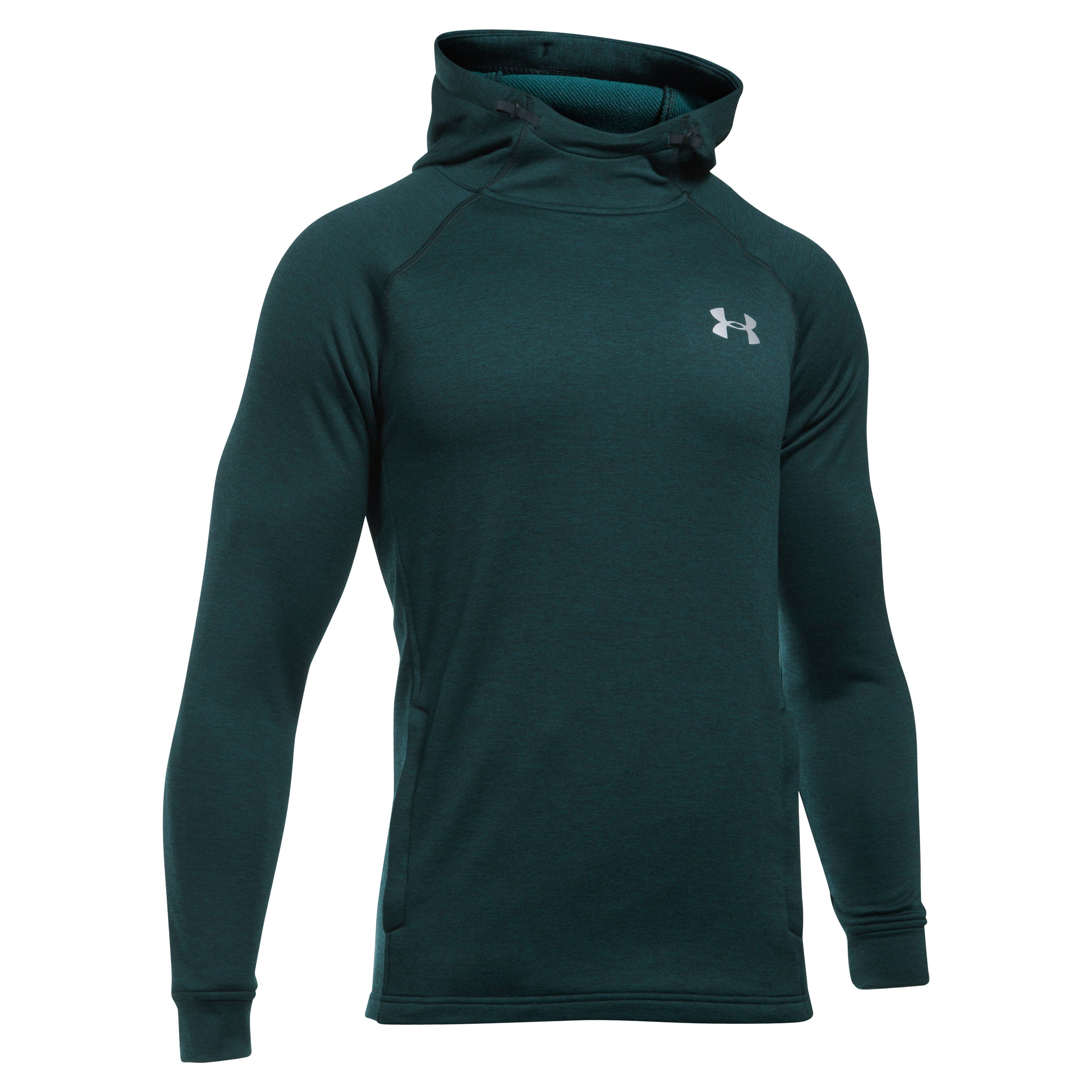 Under Armour Hoodie Tech Terry green