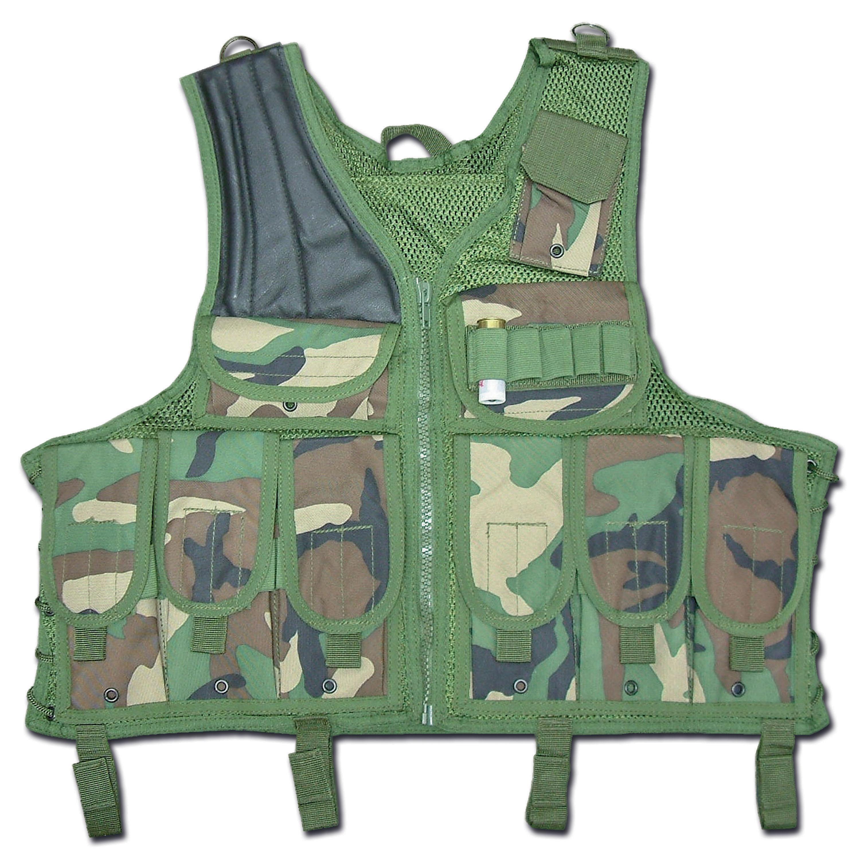 Tactical Vest Import woodland