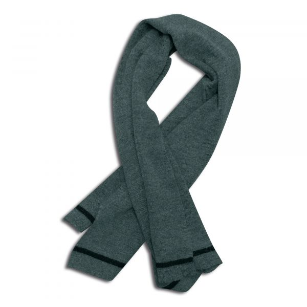 BW Wool Scarf Used gray