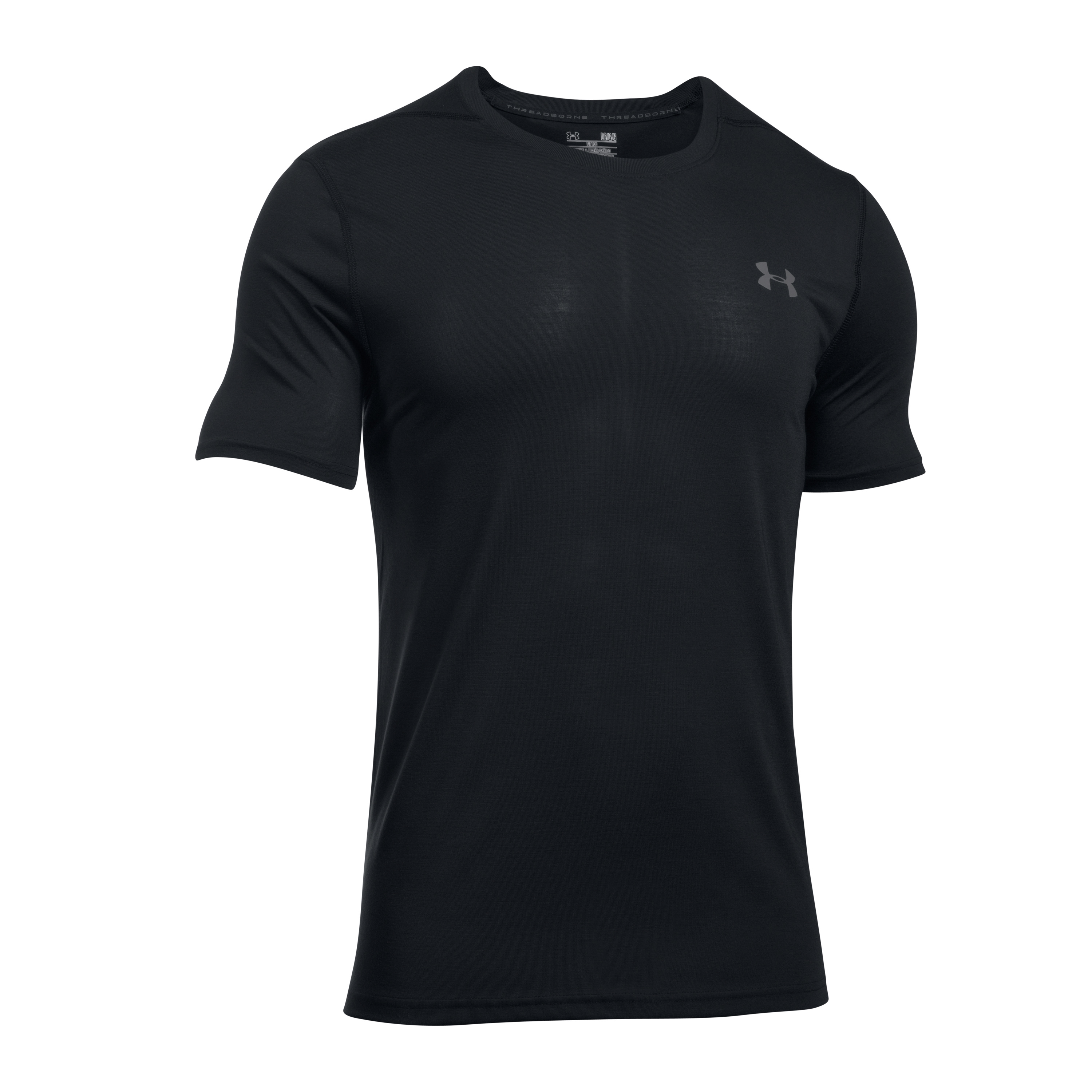 Under Armour Fitness Threadborne Fitted black