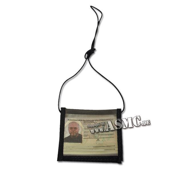 ID Card Neck Pouch