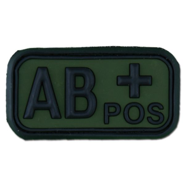 3D Blood Type AB Pos forest