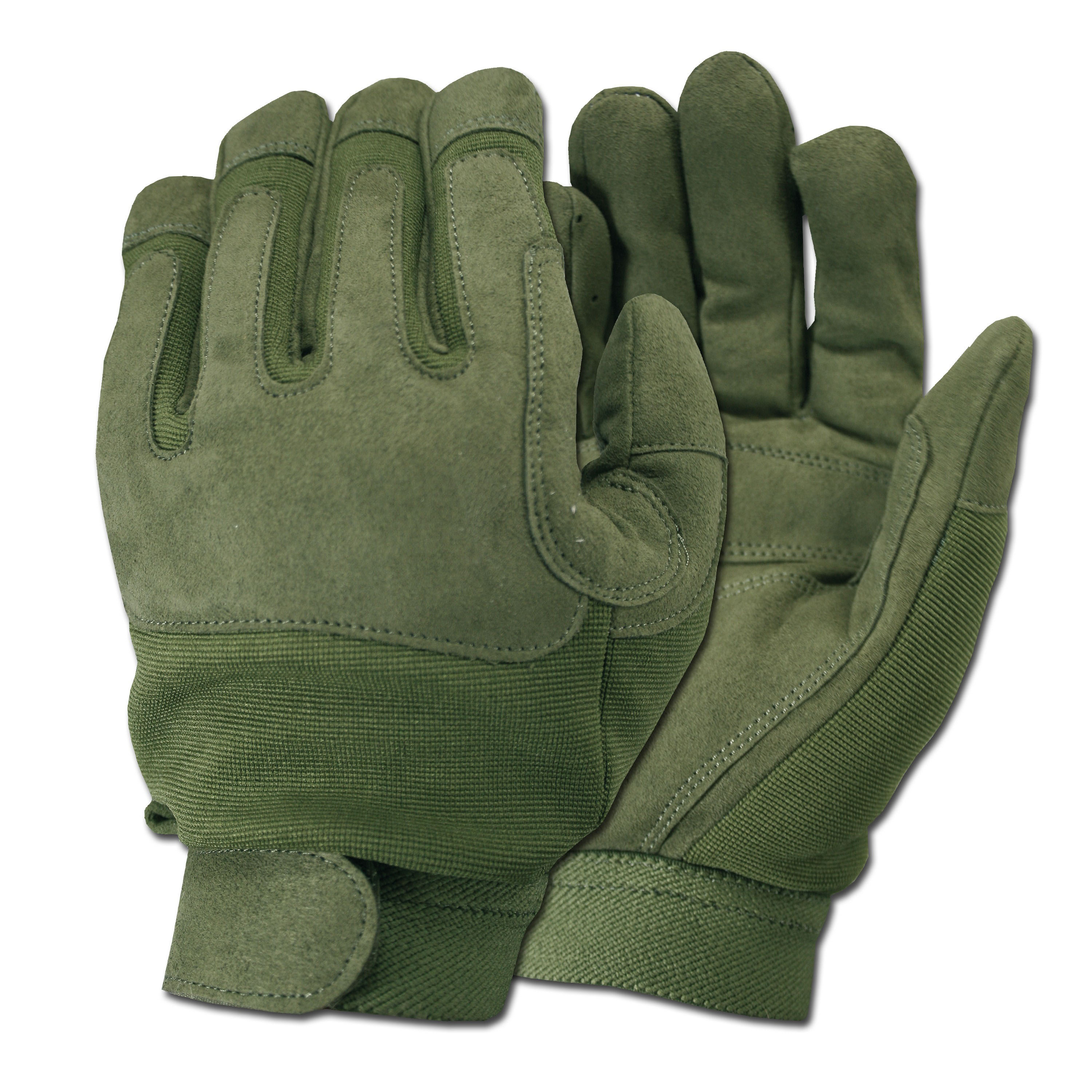Army Gloves olive green