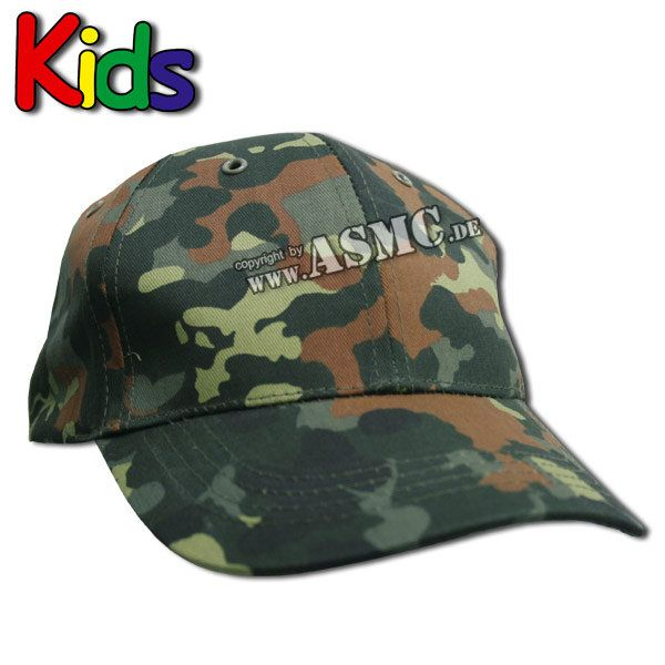Baseball Cap Kids flecktarn