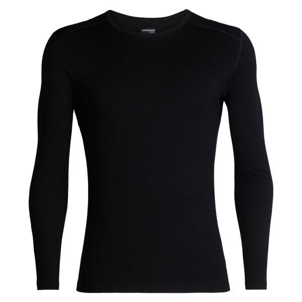 Icebreaker Long Sleeve Tech Crew Shirt black