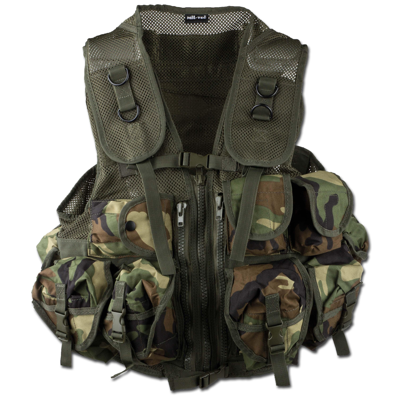 Tactical Vest Mil-Tec woodland