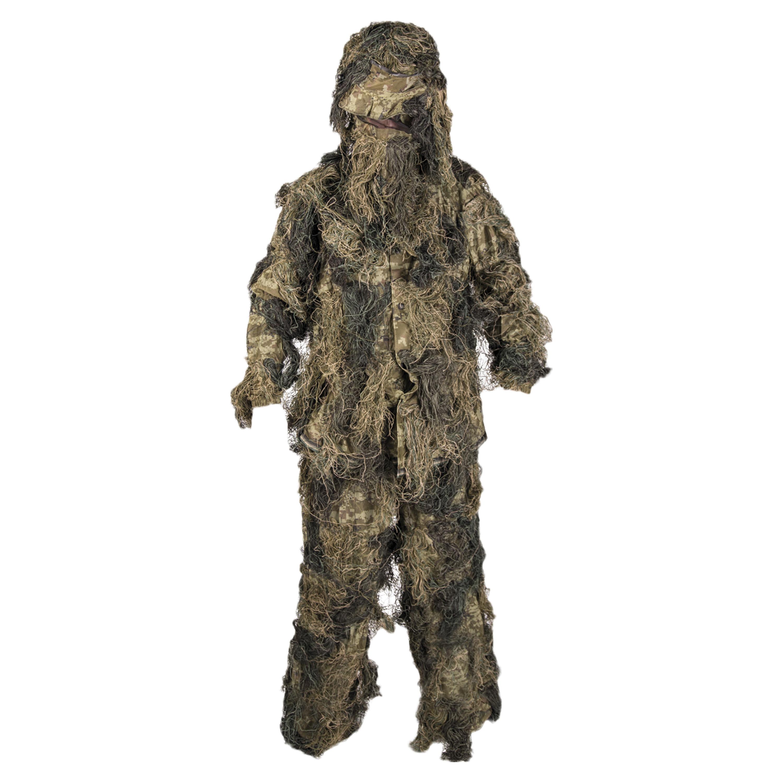NEW Paintball Gear Camo Woodland Ghillie Gillie Suit XL