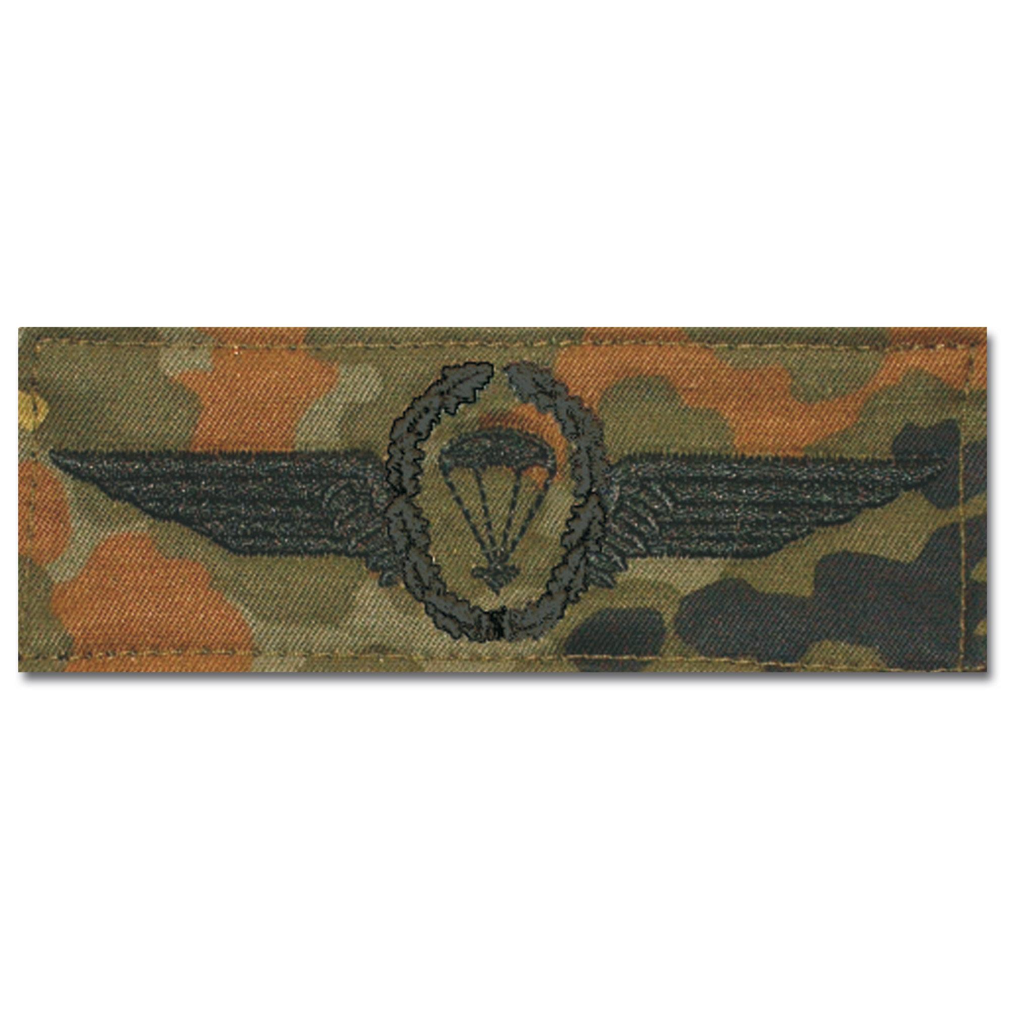 German Airborne Insignia black/flecktarn