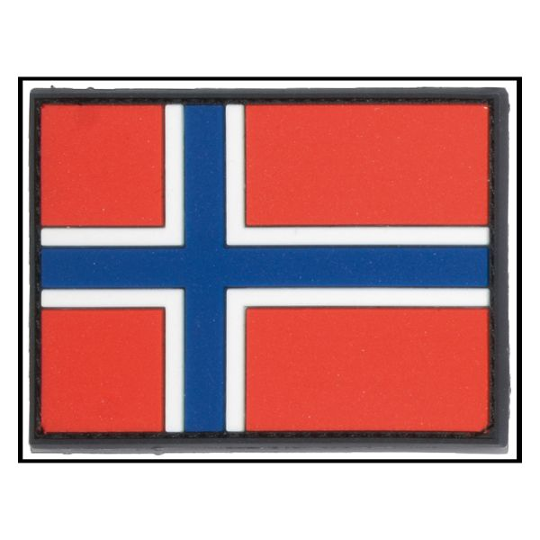 3D-Patch Flag Norway