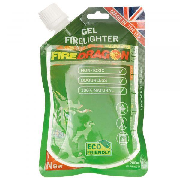 BCB Gel Firelighter Firedragon Bag 200 ml