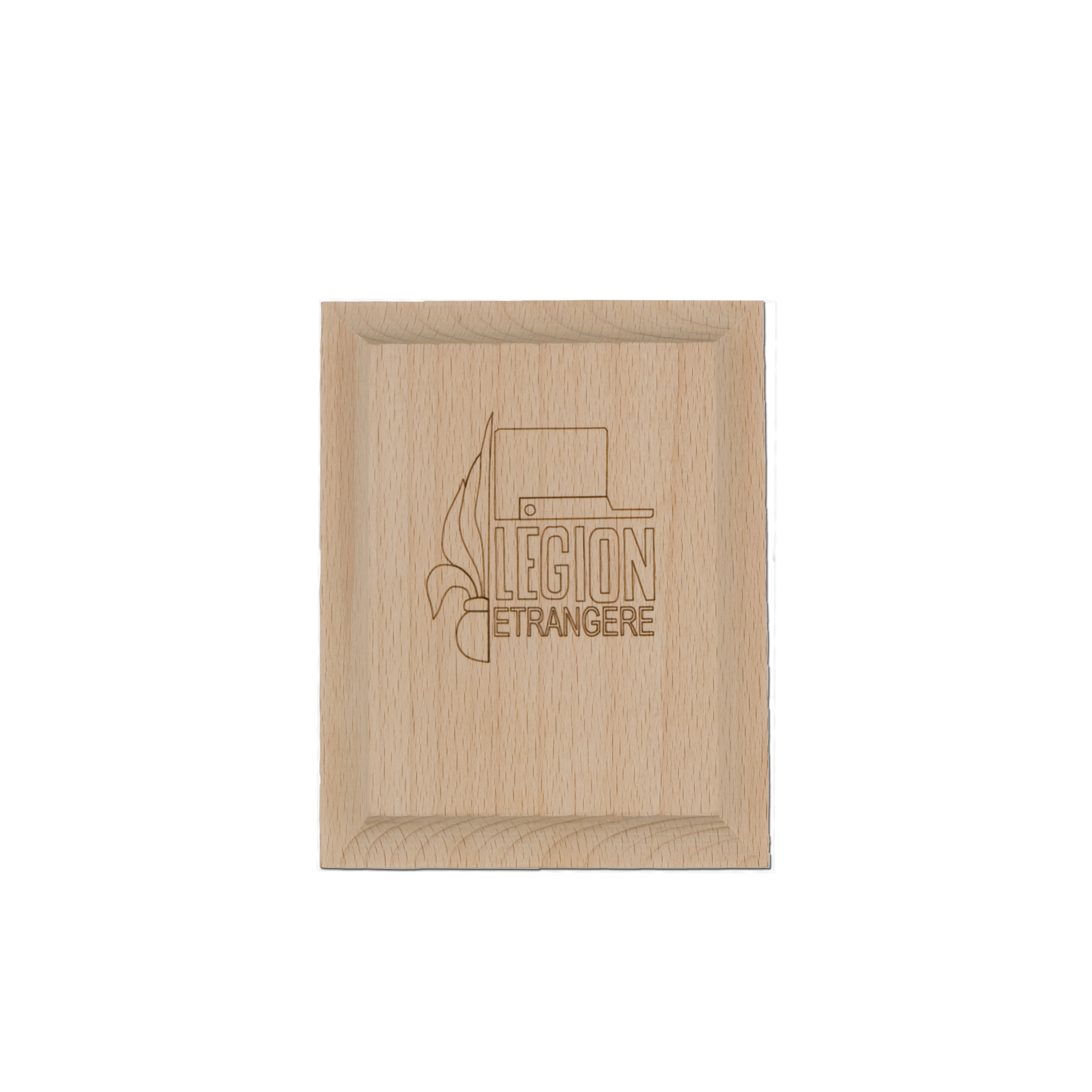 Wooden panel small Foreign Legion