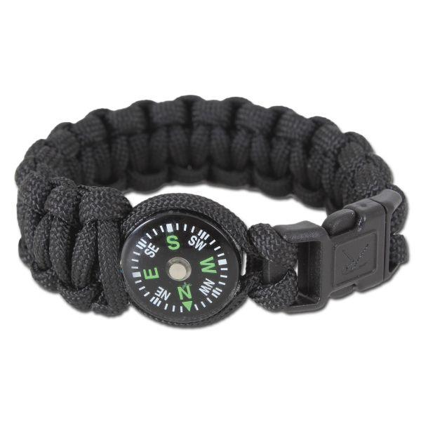 Rothco Bracelet W/Compass black