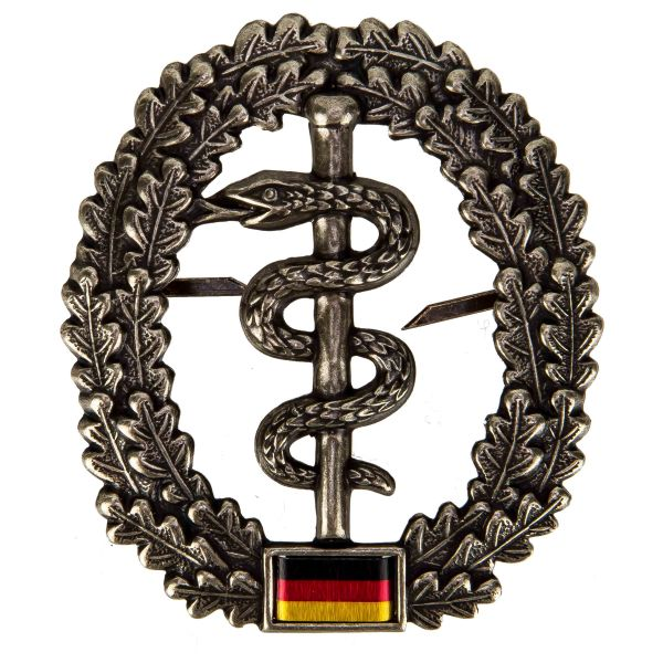 German Armed Forces beret insignia Sanitätstruppe (army medical)