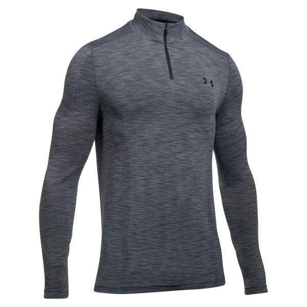 Under Armour Long Arm Shirt Threadborne 1/4 Zip gray/black