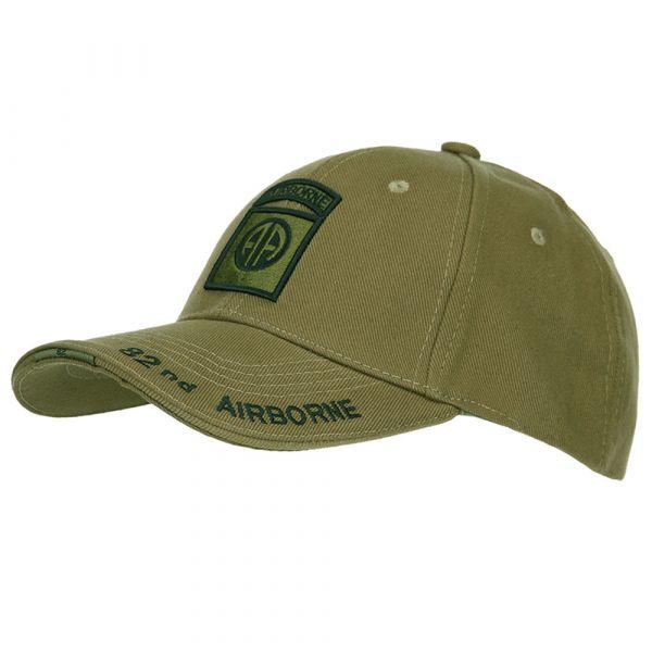 Fostex Garments Baseball Cap 82nd Airborne olive
