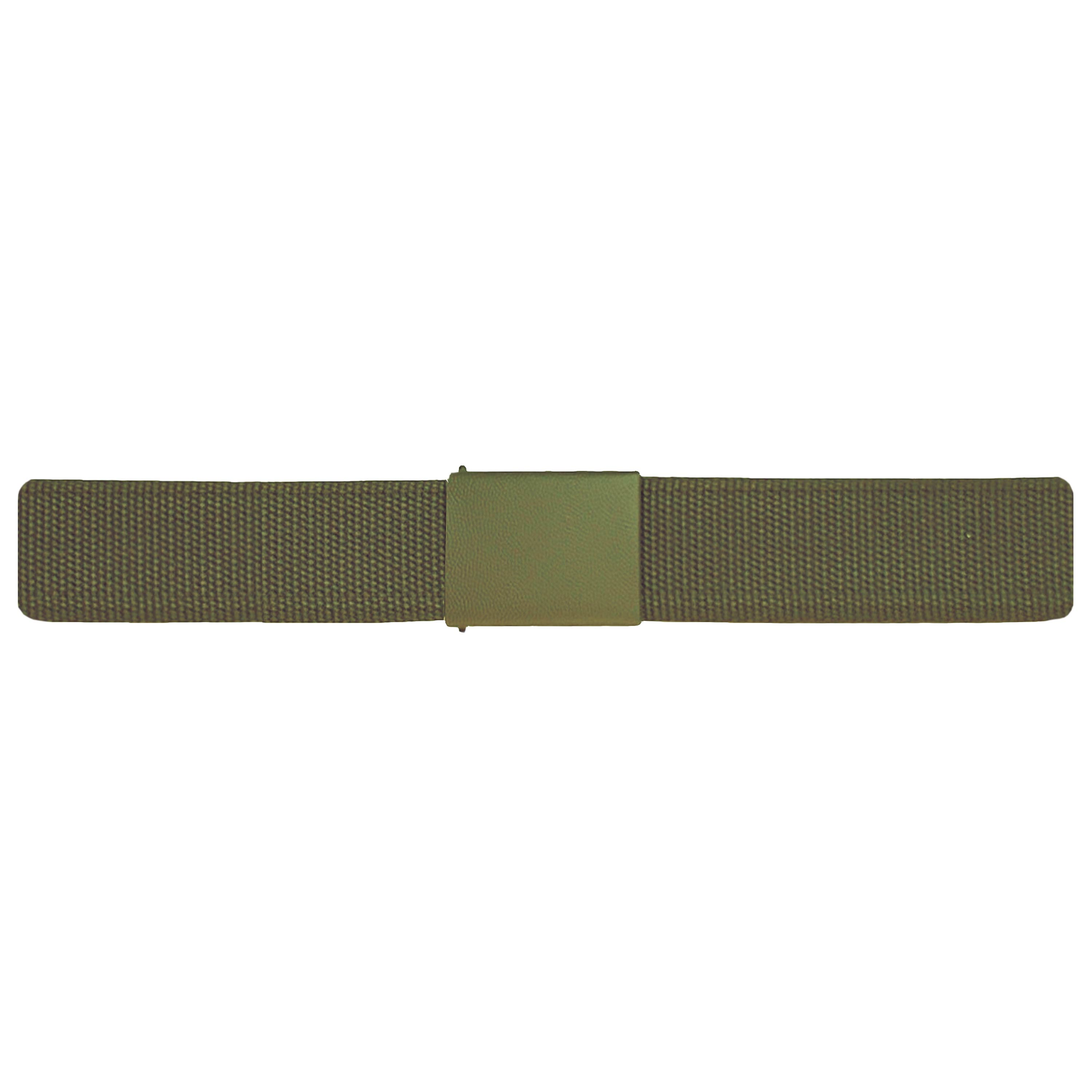 German Army Belt Textile Used olive