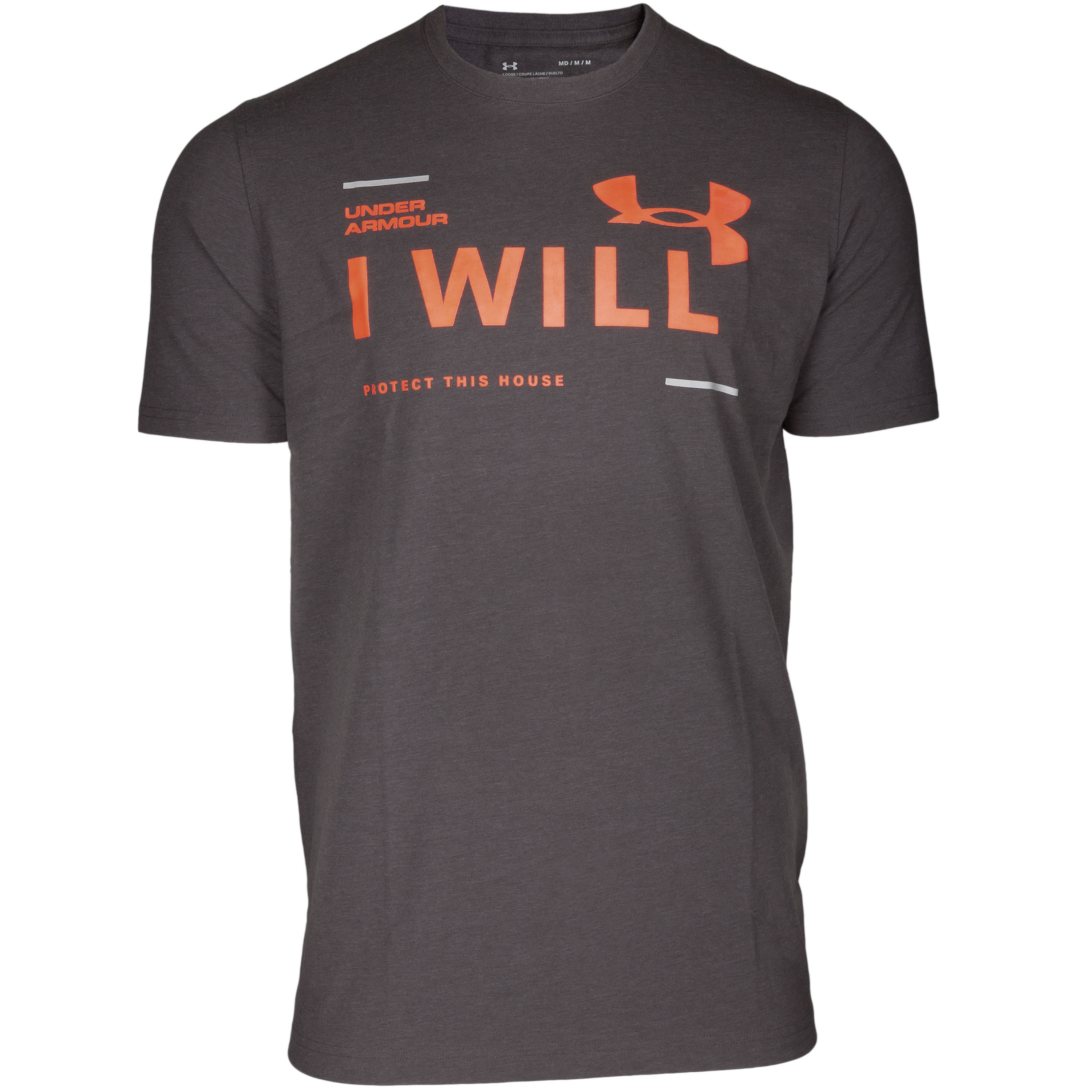 Under Armour Shirt I Will gray/red
