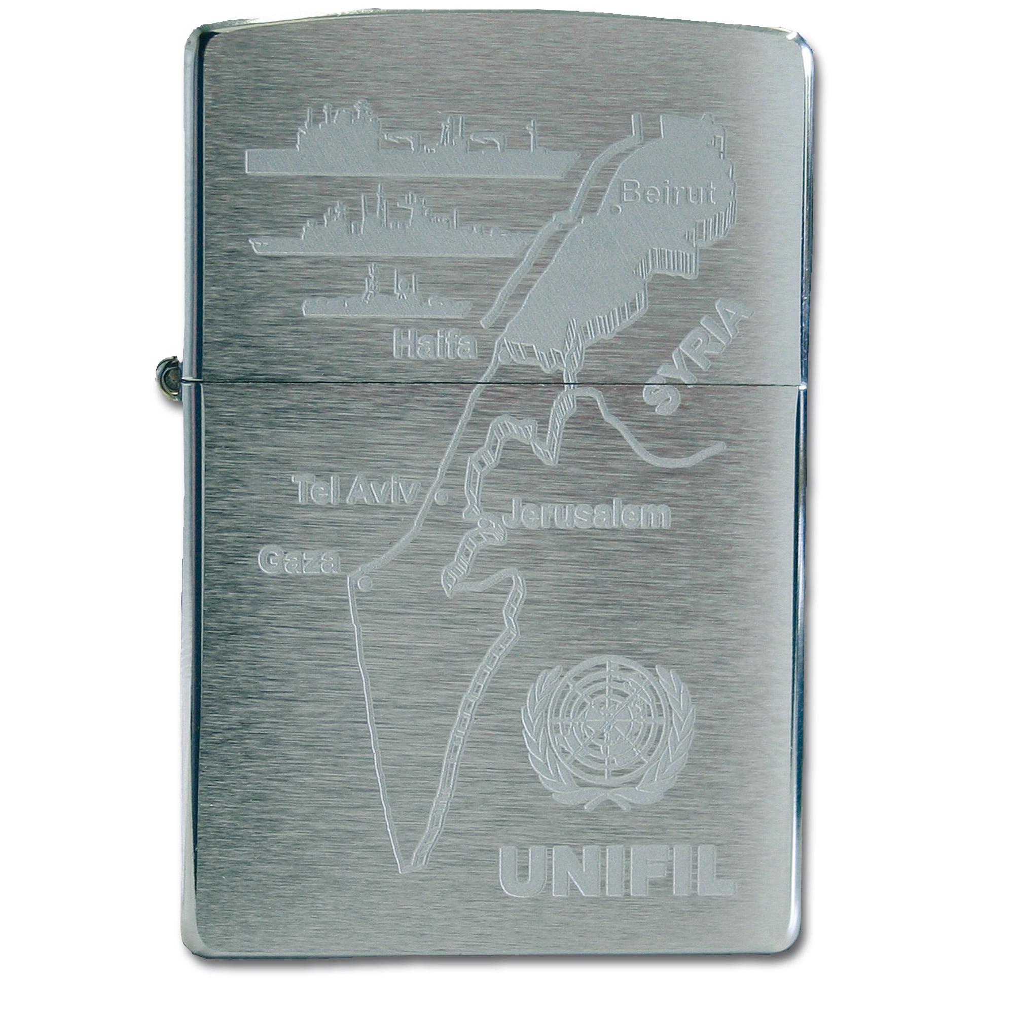 Zippo Lighter UNIFIL