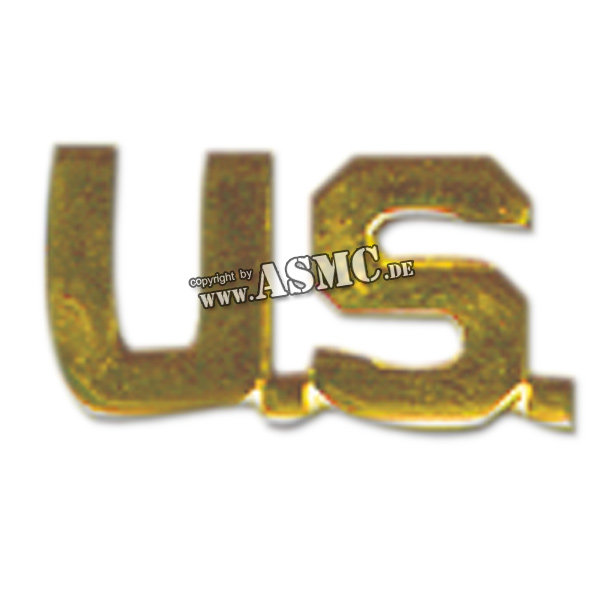 U.S. Collar Letters gold