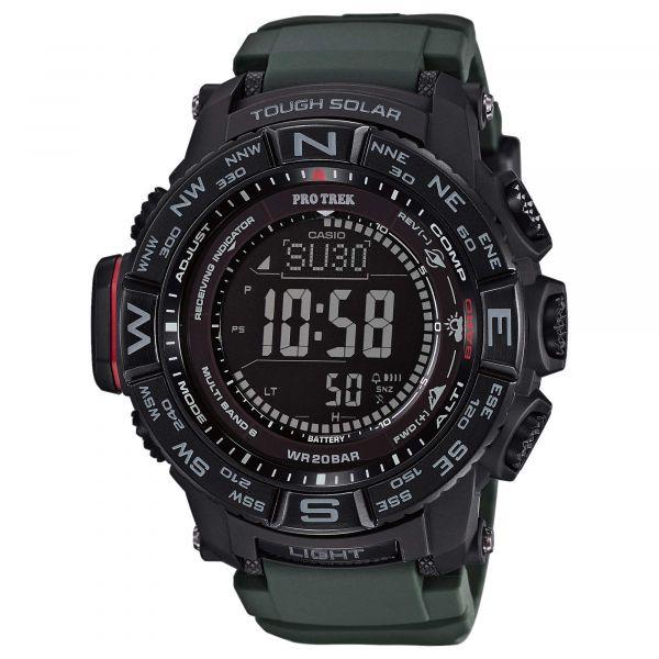 Casio Watch Pro Trek Monte Rosa PRW-3510Y-8ER black/olive