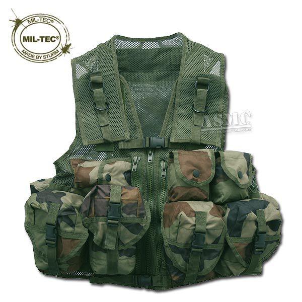Tactical Vest Mil-Tec CCE camo