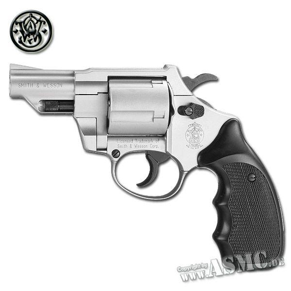 Revolver SW Combat, nickel plated