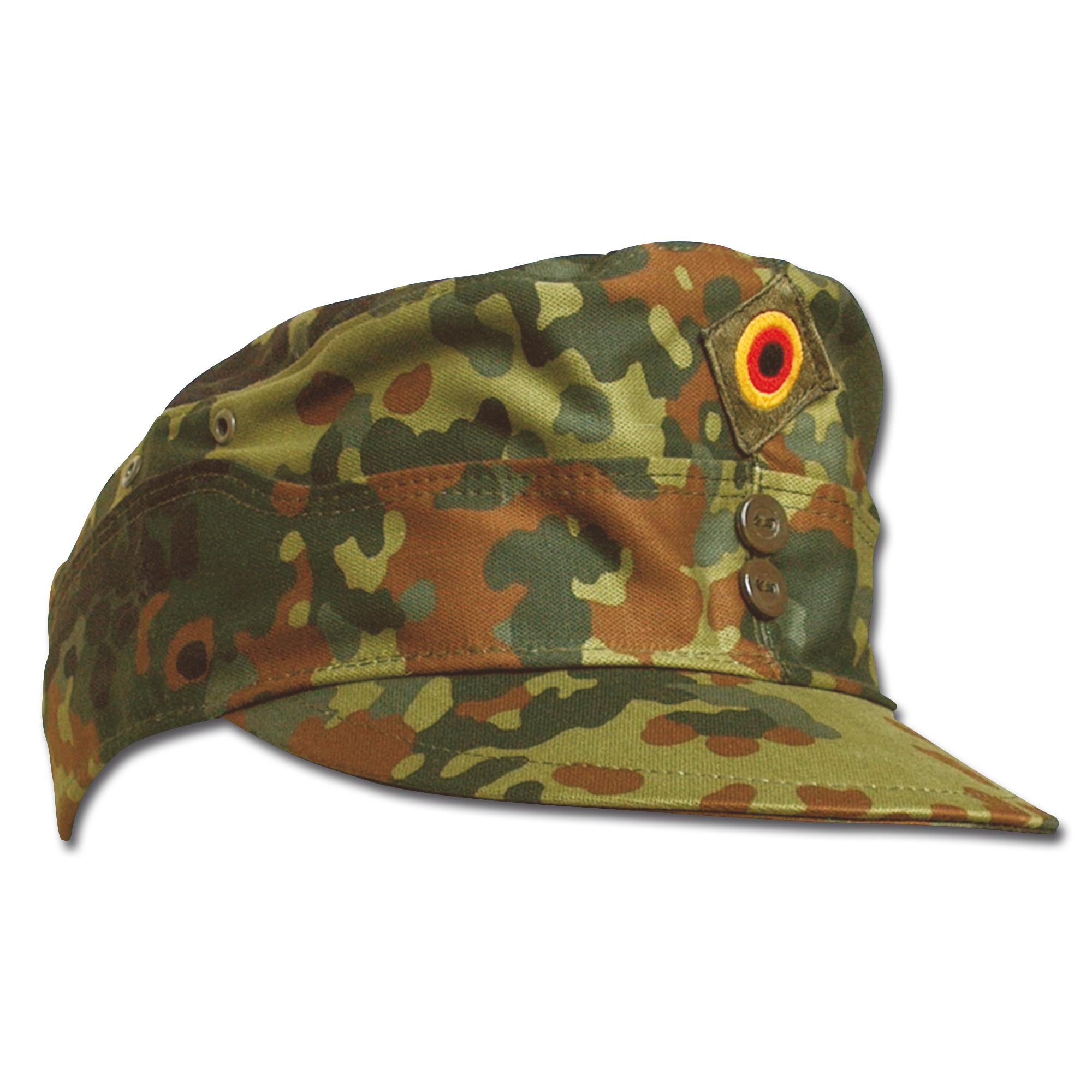 BW Combat Cap Gebirgsjäger flecktarn
