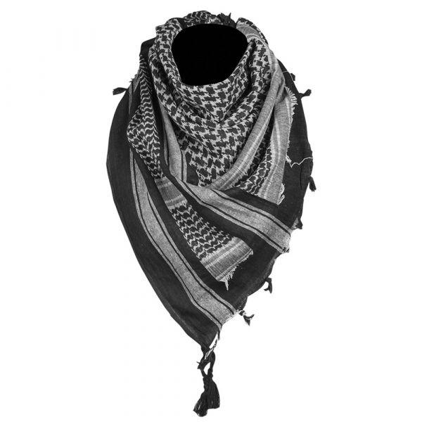 Mil-Tec Shemagh 110x110 cm black/white