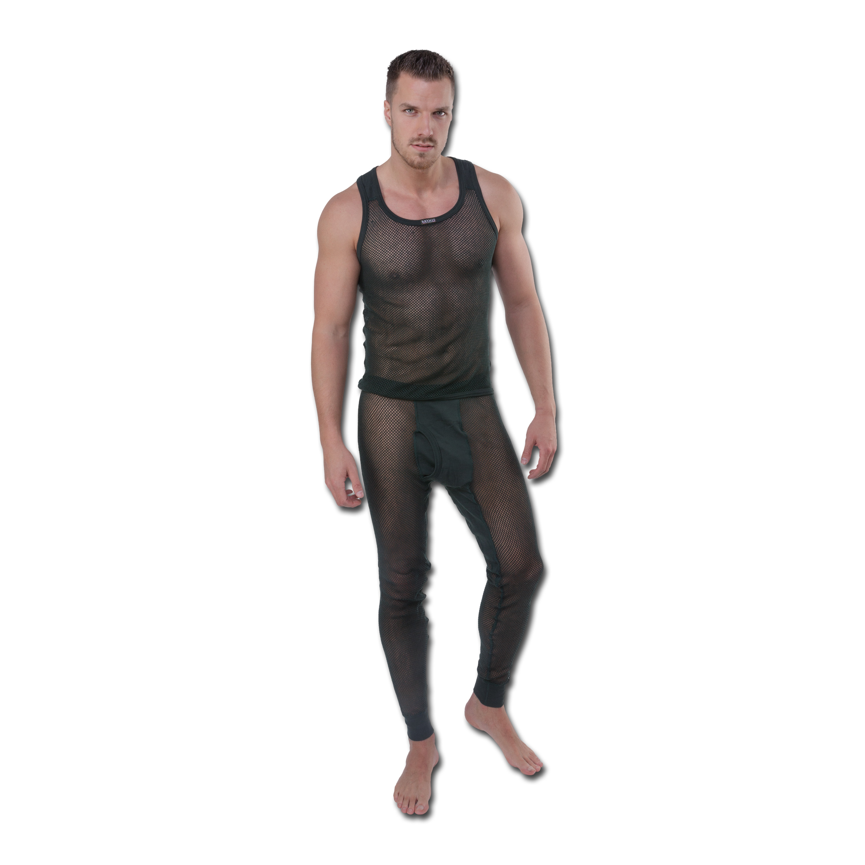 Brynje Long Underwear green