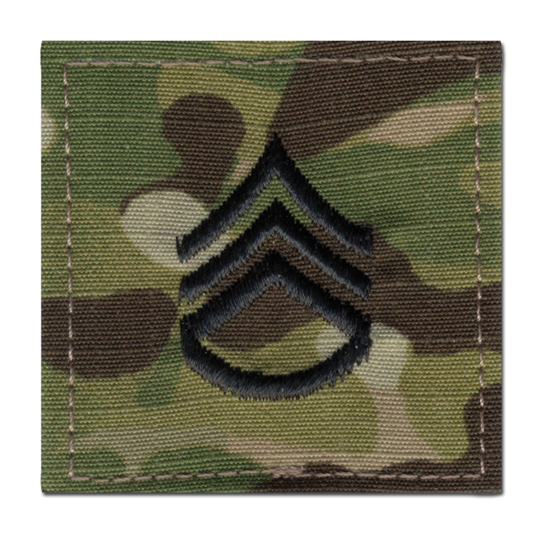 Rank Insignia U.S. Staff Sergeant Multicam