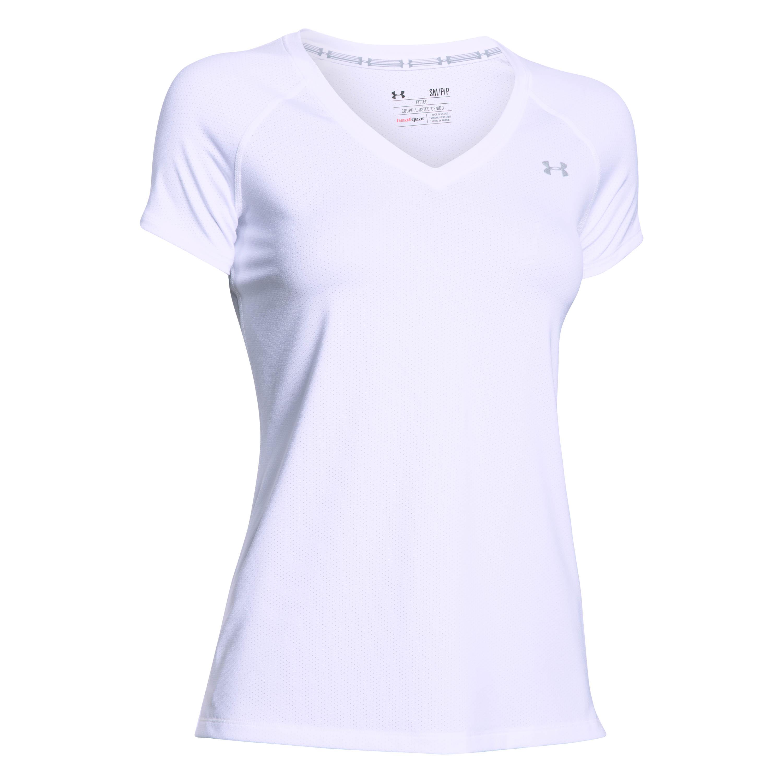 Under Armour Women T-Shirt HeatGear Armour white