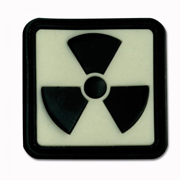 3D-Patch Radioactive luminescent inverted
