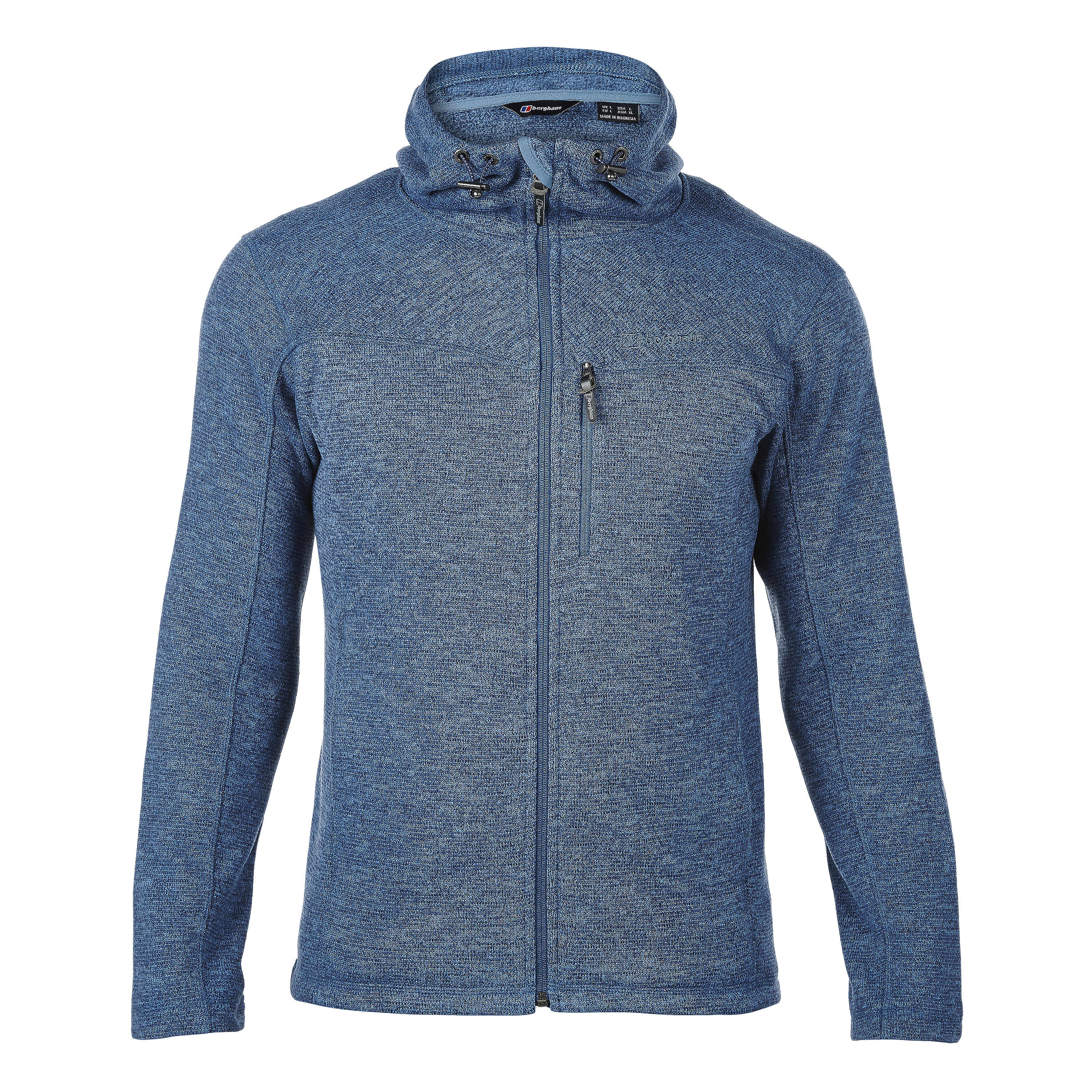 Berghaus Fleece Jacket Greyrock blue