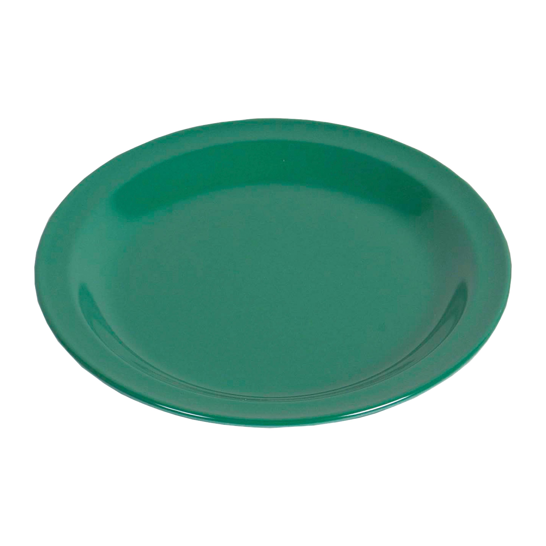 Melamine Flat Plate green