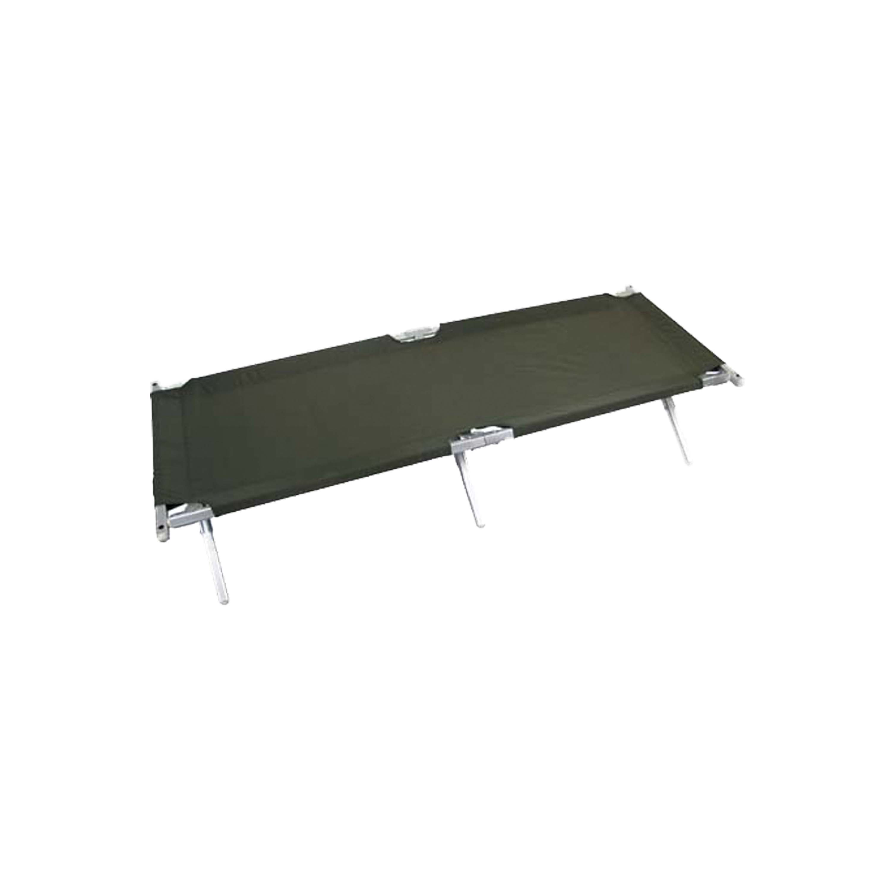 U.S. Field Bed Alu with New Cover olive