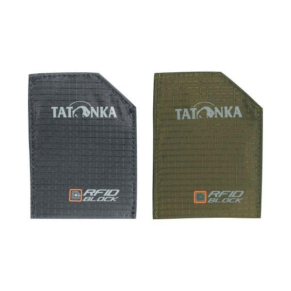 Tatonka Pouch Set RFID B black/olive
