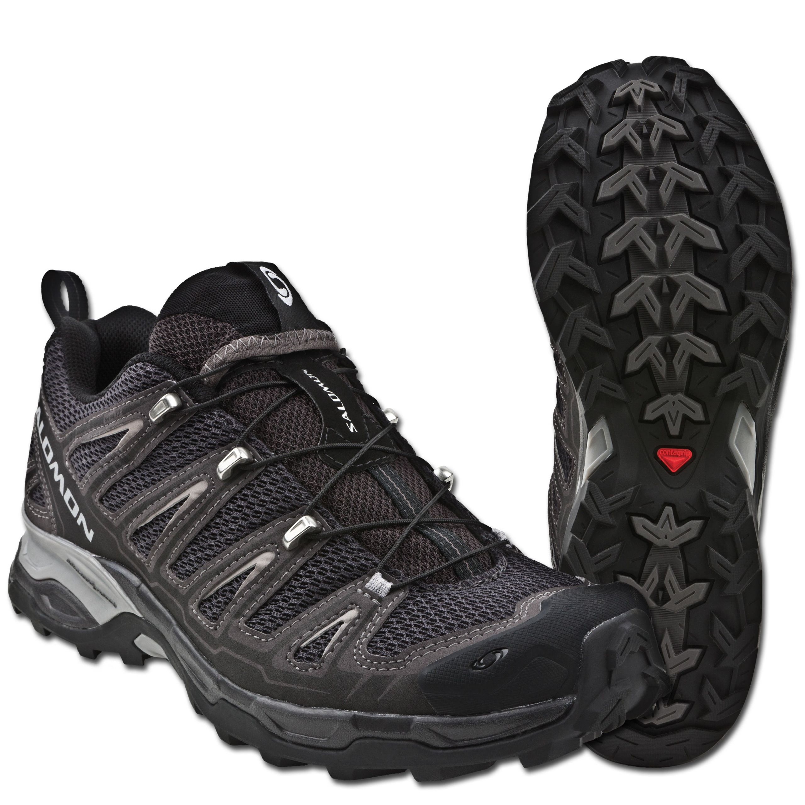 Salomon Schuhe X Ultra schwarz doppelt